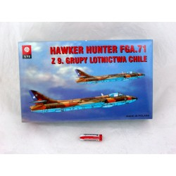 MODEL -SAMOLOTU HAWKER HUNTER CHILE FG