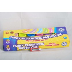 FARBY PLAKATOWE 12K PASTEL 5039 301118001