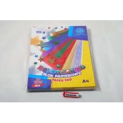 Blok papierów holograficznych ASTRAPAP A4 10 ark 70g