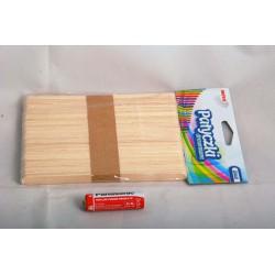 Patyczki drewniane naturalne 14 cm PN140