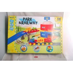PLAY TRACKS RAILWAY STACJA KOLEJOWA 51520