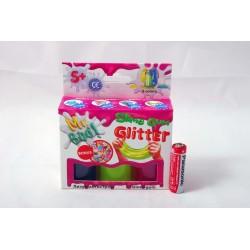 Glutek Slime Mr.Boo Mini Zest GLITTER 6*20gr 80043