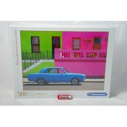 PUZZLE 500 HQC THE BLUE CAR  2020  35076