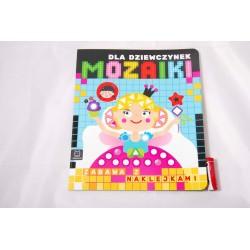 Mozaiki dla dziewczynek. Zabawa z naklejkami 0683