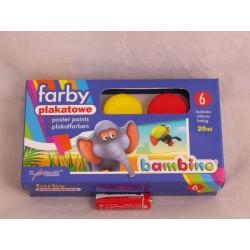 FARBY PLAKATOWE BAMBINO 6K 01598