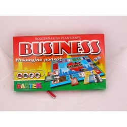 GRA PLANSZOWA BUSINESS-WAKACYJNA PODRÓŻ