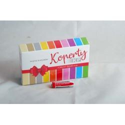 Koperty kolorowe na pieniądze 85x150 Ogólne opak. 50 szt. mix kolorów