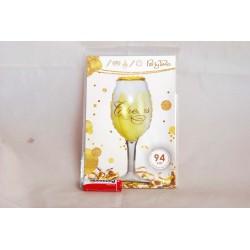 Balon foliowy kieliszek do szampana