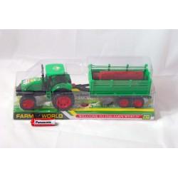 TRAKTOR FARM WORLD  Z DRZEWEM MAD 0116