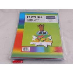 TEKTURA FALISTA B4 TĘCZOWA A'5