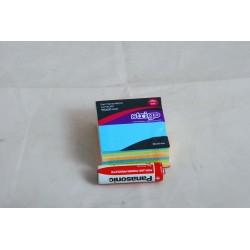 KARTECZKI SAMOPRZYLEPNE 50X50MM 250 KARTEK NEONOWE I PASTELOWE
