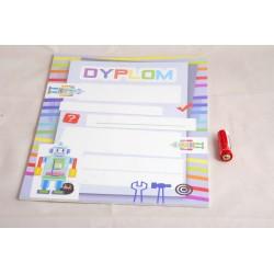 DYPLOMY DZIECIĘCE ROBOTY A4/20ark.