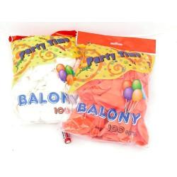 "BALON 12"" PASTEL 1-KOLOR _100 SZT._"
