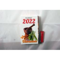 KALENDARZ ZDZIERAK B7 UZDROWICIELA 2022