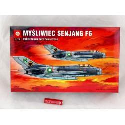 MODEL -SAMOLOTU MYŚLIWIEC SENJANG F6