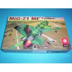 MODEL -SAMOLOTU MIG-21 FISHBED