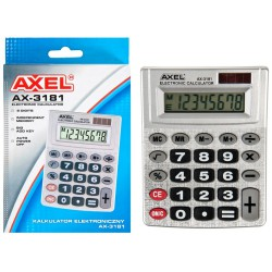 I KALKULATOR AXEL AX-3181...