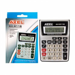 I KALKULATOR AXEL AX-8116...